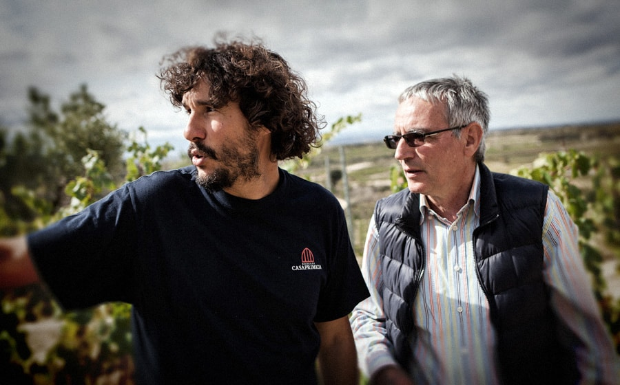 Iñaki y Juan Ramón en la finca de Carravalseca || Iñaki and Juan Ramon in the Carravalseca estate