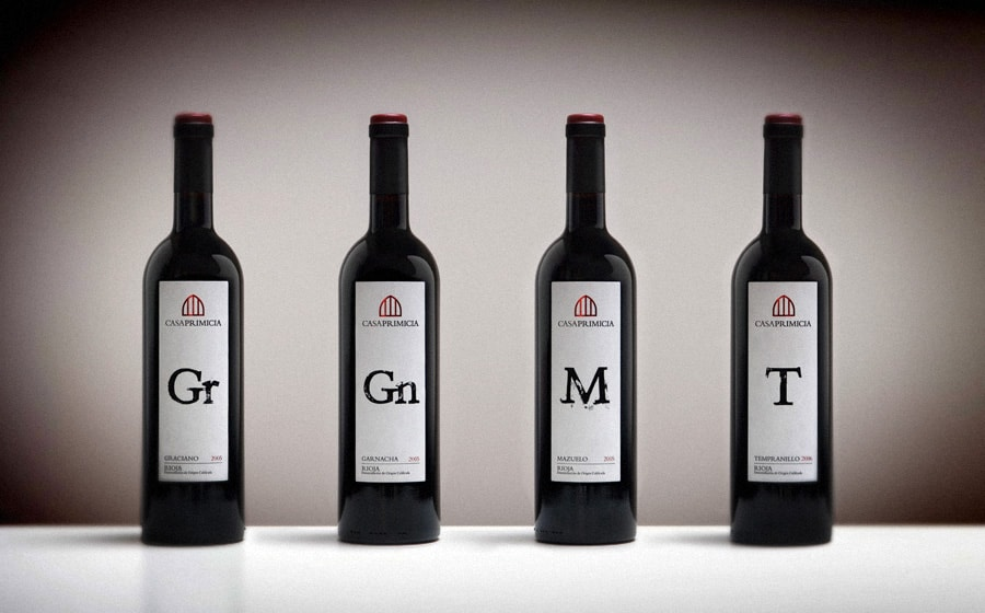 Los 4 magnificos: Graciano, Garnacha, Mazuelo y Tempranillo || The 4 magnificent ones: Graciano, Garnacha, Mazuelo and Tempranillo