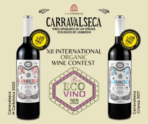 Premios Ecovino 2021 Carravalseca Casa Primicia